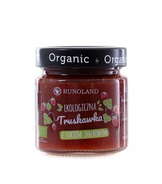 RUNOLAND ORGANIC Strawberry Jam with Apple Juice - 200g (exp. 10.07.20)