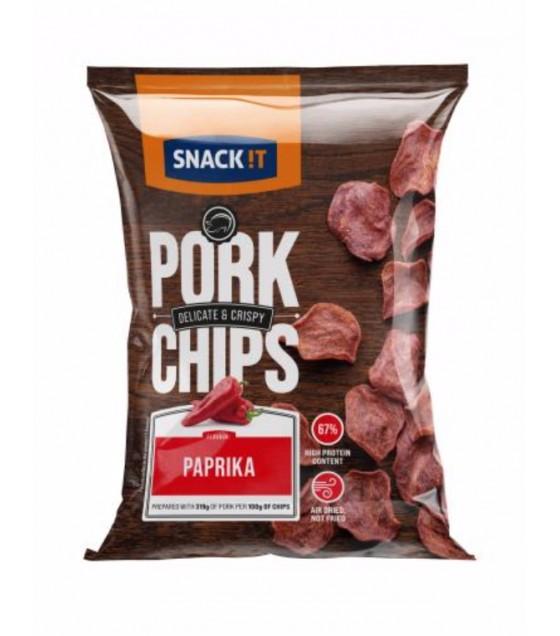 TARCZYNSKI SNACK IT! Pork Chips Paprika - 25g (exp. 21.08.20)