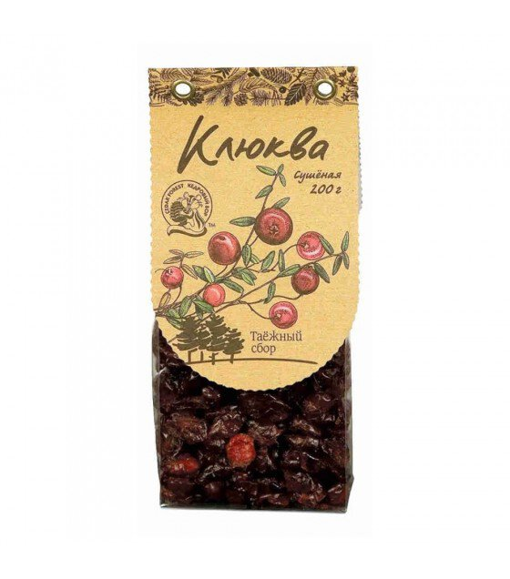 "Dry Cranberry""Kedrovy Bor"" - 200g (exp. 30.08.19)"