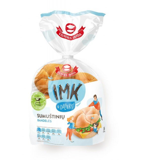 IMK Wheat Roll Buns - 225g