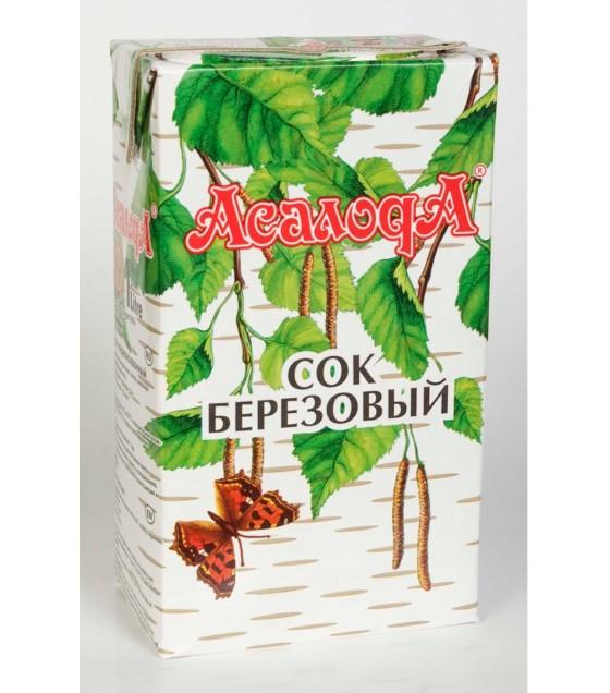 "ASALODA  Juice ""Berezovyi"" - 1L (exp. 16.10.20)"
