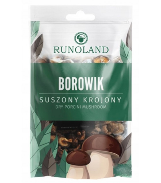 RUNOLAND Dried Porchini Forest Mushrooms - 20g (exp. 10.10.20)