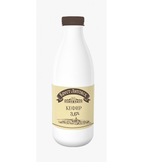 "SAVUSHKIN Kefir ""Brest-Litovsk"" 3,6% (plastic bottle) - 950g (best before 04.12.20)"