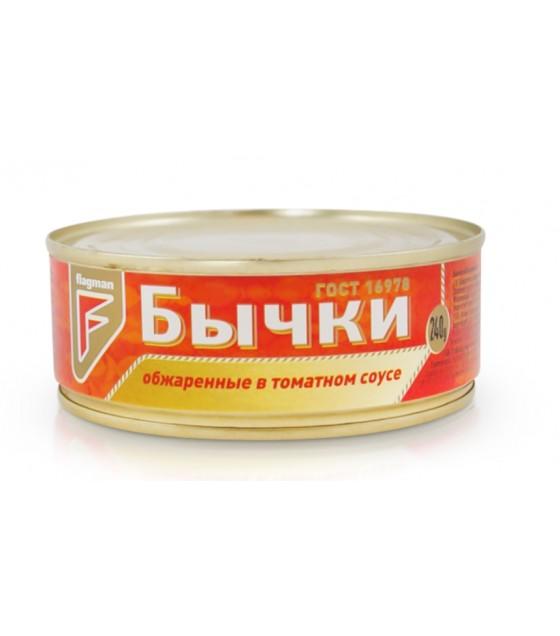STEINHAUER Gobies (Bychki) Fried in Tomato Sauce - 240g (exp. 06.09.21)