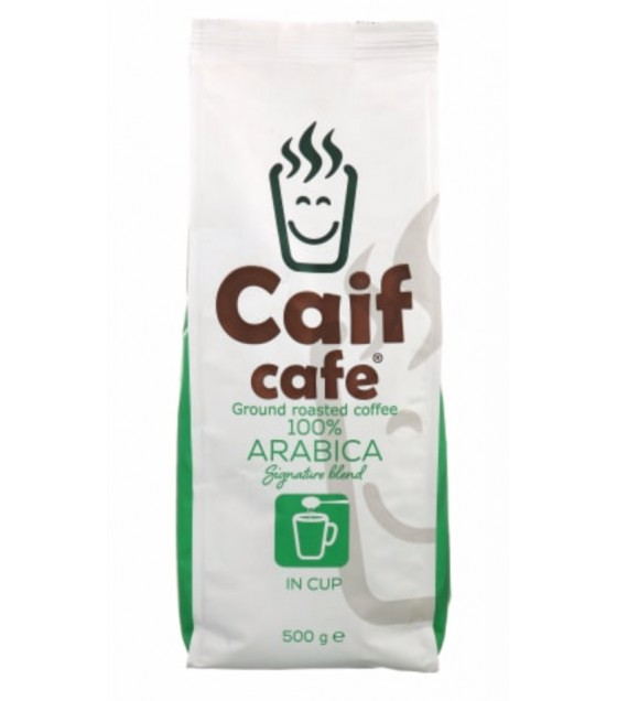 CAIF Roasted Ground Coffee Signature Blend Arabica 100% - 500g (exp. 20.01.21)