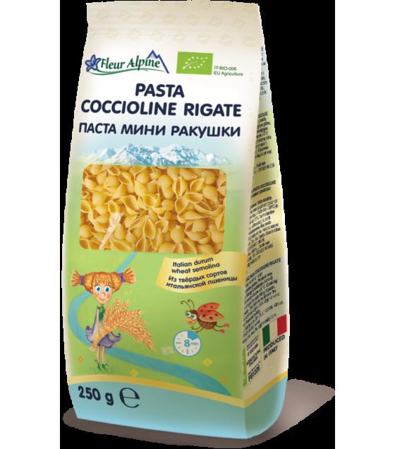 """Fleur Alpine - Organic Pasta """"Coccioline Rigate"""" - 250g (exp. 18.12.22)"""
