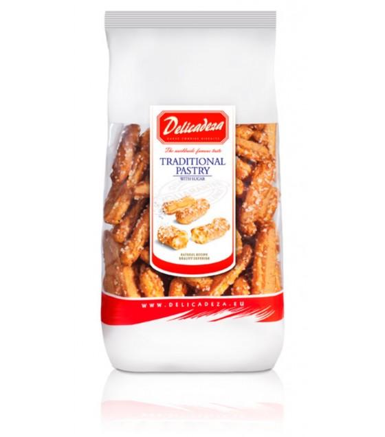 DELICADEZA Traditional Pastry with Sugar and Cinnamon - 125g (exp. 20.08.20)