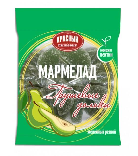 """KRASNY PISHEVIK Marmelade """"Grushevye Dolki"""" - 210g (best before 01.10.20)"""