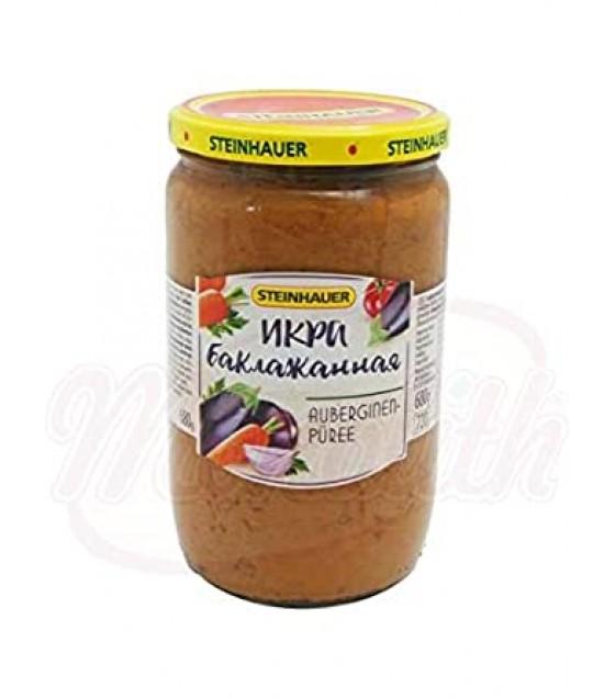 STEINHAUER Eggplant Spread Paste - 720g (exp. 28.09.22)