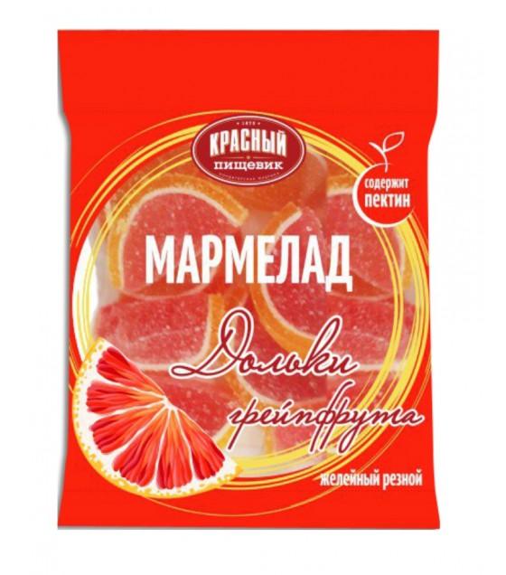 """KRASNY PISHEVIK Marmelade """"Dolki Greipfruta"""" - 210g (exp. 01.10.20)"""