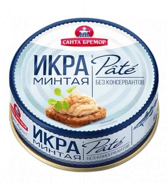"SANTA BREMOR Atlantic Pollock Caviar ""PATE"" (Mintay) - 90g (best before 12.03.21)"