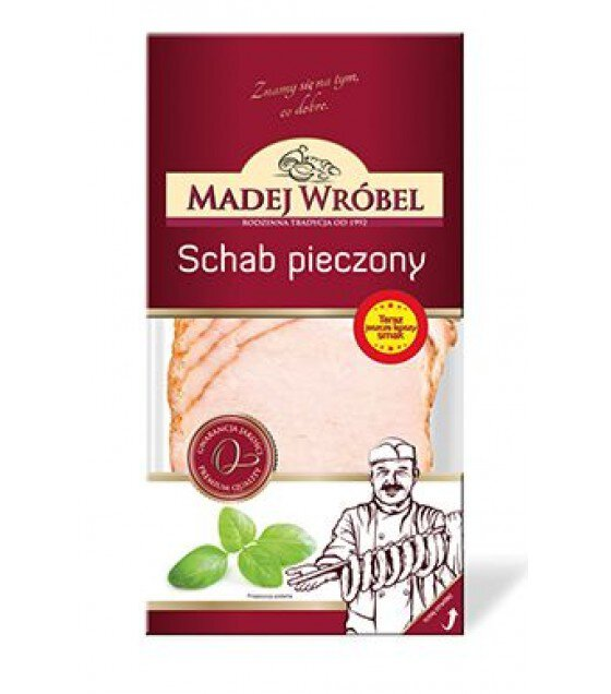 MADEJ WROBEL Baked Pork Loin Sliced - 100g (exp. 11.05.19)
