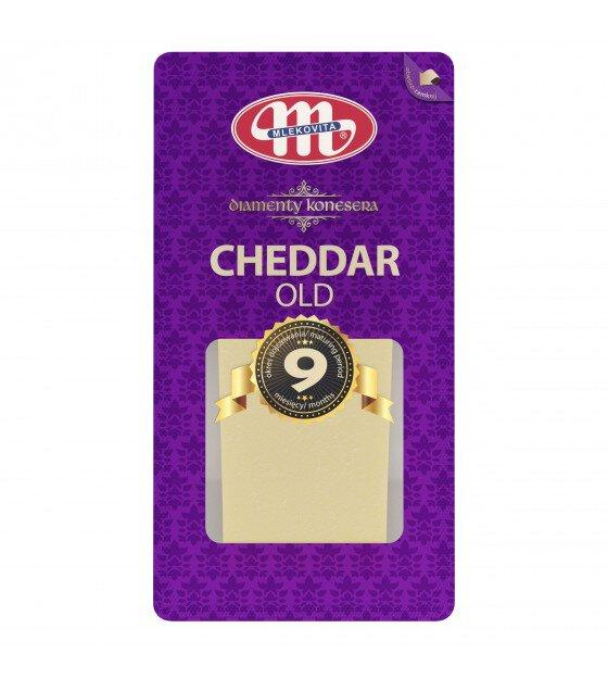 Mlekovita CHEDDAR OLD Maturing Cheese 6 Months - 200g (exp. 20.07.19)