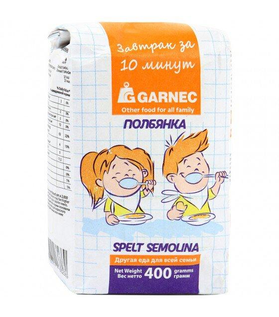 """Spelt Semolina """"Garnec"""" - 400g (exp. 22.12.19)"""