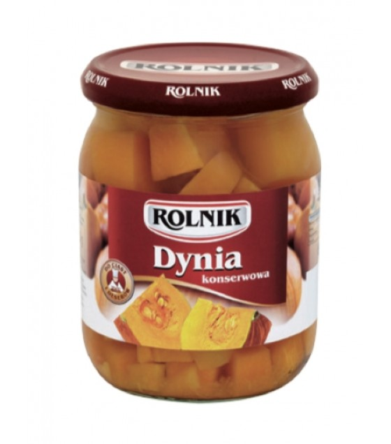 ROLNIK Pickled Pumpkin - 540g (best before 01.12.21)