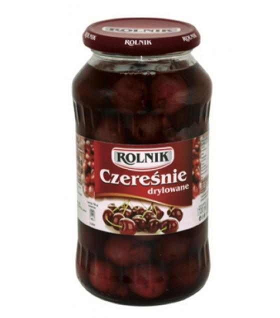 ROLNIK Pitted Sour Cherries (Wisnie Drylowane) - 720g (exp. 31.12.22)