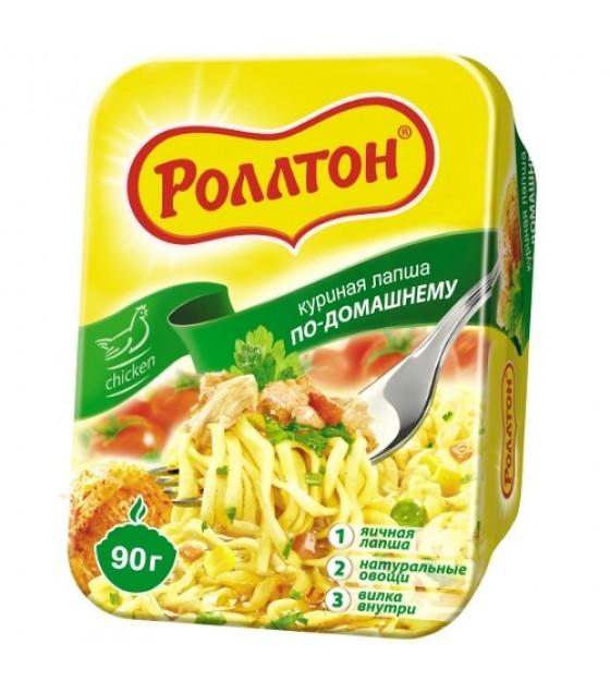 "ROLLTON Chicken Noodles ""Po-Domashnemy"" - 90g (exp. 03.10.20)"