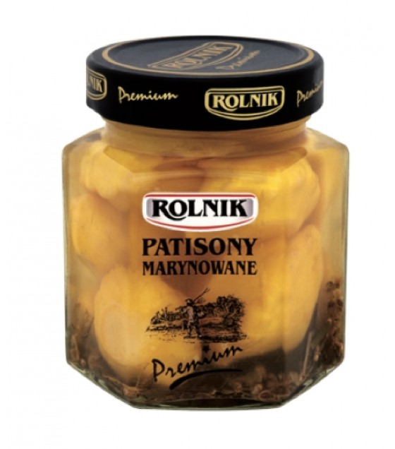 ROLNIK Marinated Pattypans - 314g (best before 31.12.21)