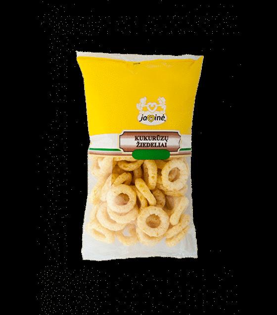 JAVINE Sweet Corn Rings - 100g (exp. 09.11.19)