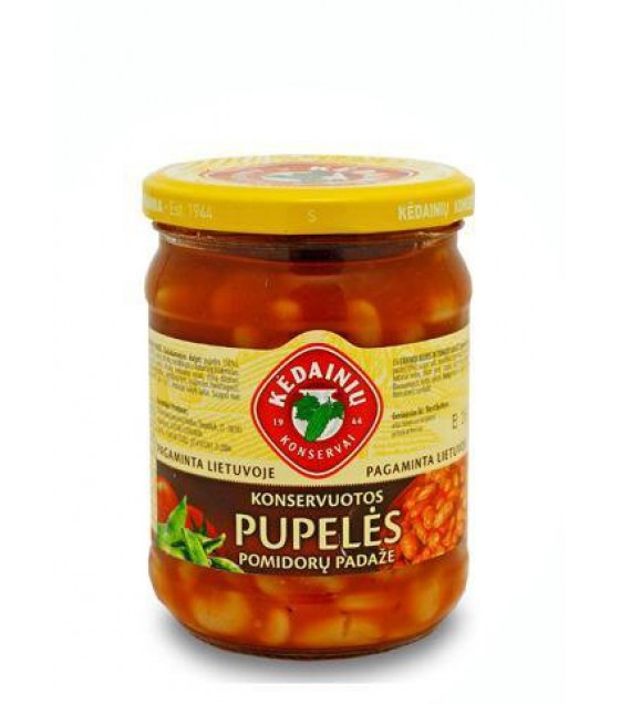KEDAINIU Canned Beans in Tomato Sauce - 500g (exp. 11.02.22)