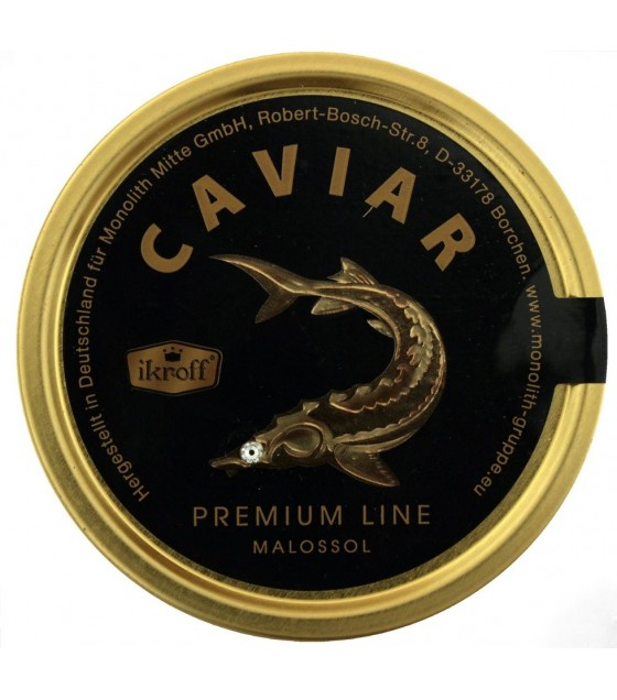 IKROFF Sturgeon Caviar (Osetr) - 100g (exp. 10.08.20)