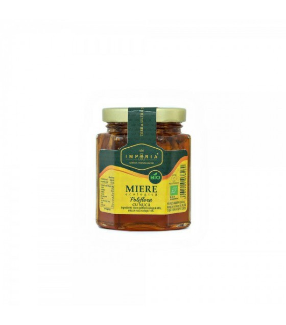 IMPERIA BIO Organic Honey WITH NUTS - 240g (exp. 20.02.21)