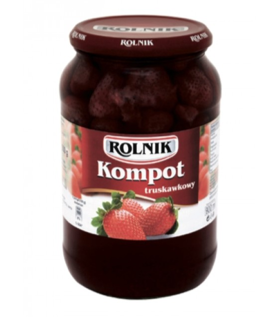 ROLNIK Strawberry Compote Fruite Drink - 900g (exp. 01.02.22)