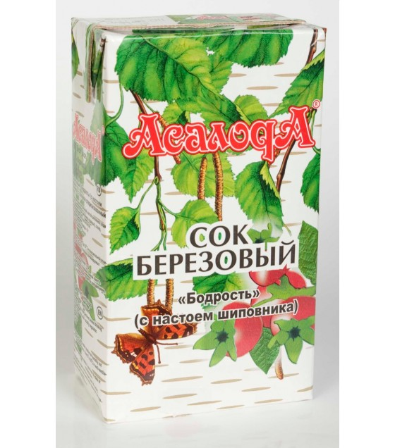 "ASALODA  Juice ""Berezovyi"" with Rosehip - 1L (exp. 17.10.20)"