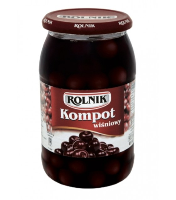 ROLNIK Sour Cherry Compote Fruit Drink - 900g (exp. 01.02.21)