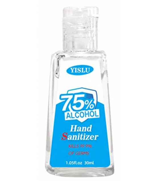 YISLU Hand Sanitizer Gel (Kills 99,9% of Germs) 75% Alcohol - 30ml