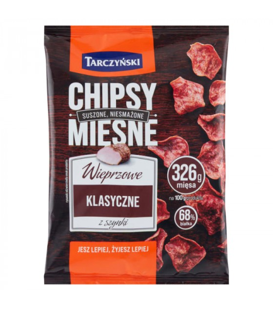 TARCZYNSKI Chipsy Pork Chips Classic - 25g (best before 15.02.21)