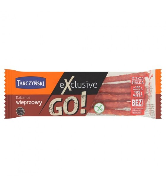 TARCZYNSKI EXCLUSIVE GO! Pork Kabanos Smoked Sausages (Wieprzowy) - 50g (best before 26.11.20)