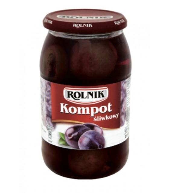 ROLNIK Plum Compote Fruit Drink - 900g (exp. 31.12.22)