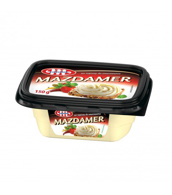 Mlekovita MAZDAMER Processed Cheese Spread - 150g (exp. 31.10.19)