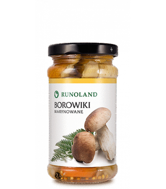 RUNOLAND Cepes Pickled Wild Mushrooms - 220g/130g (exp. 10.01.21)