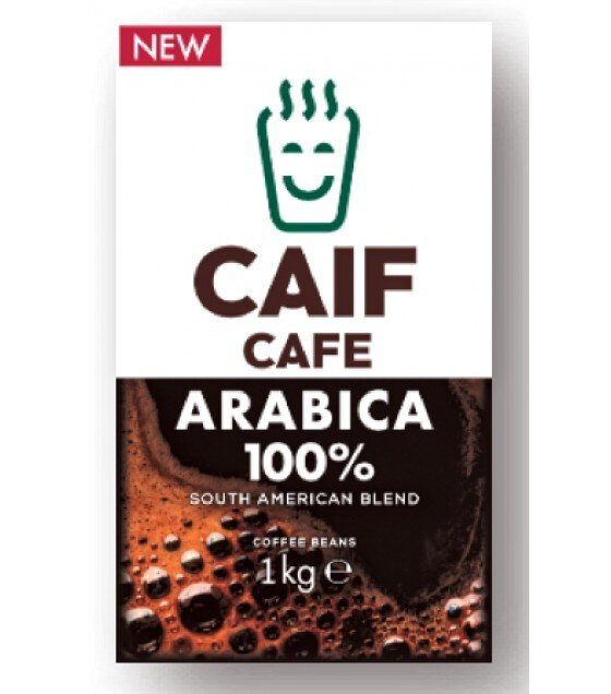CAIF Coffee Beans South American Blend - 1000g (exp. 01.12.19)