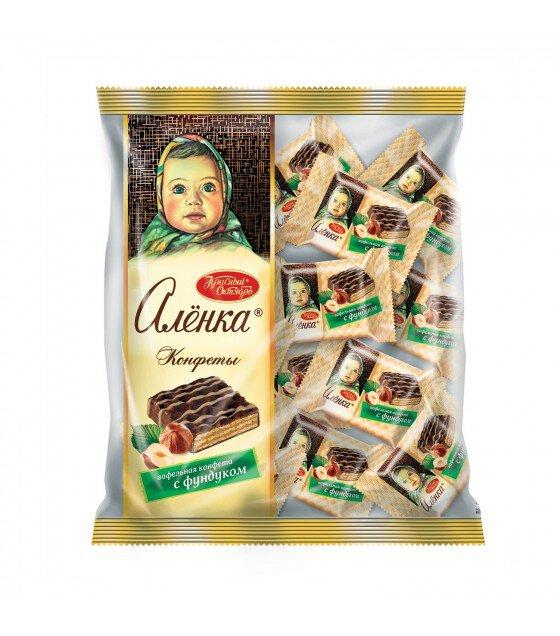 "Candies ""Alenka"" Wafer With Hazelnuts - 250g (exp. 21.08.19)"