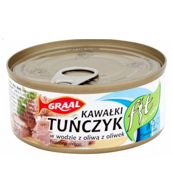GRAAL Tuna Chunks in Olive Oil - 160g (exp. 16.11.23)