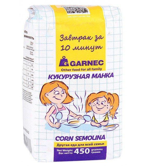 "Corn Semolina ""Garnec"" No Gluten - 450g (exp. 11.02.20)"