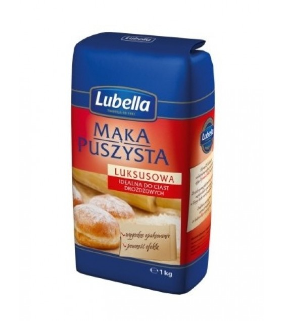 LUBELLA Wheat Flour Light Lux (Type 550)- 1kg (best before 08.11.21)