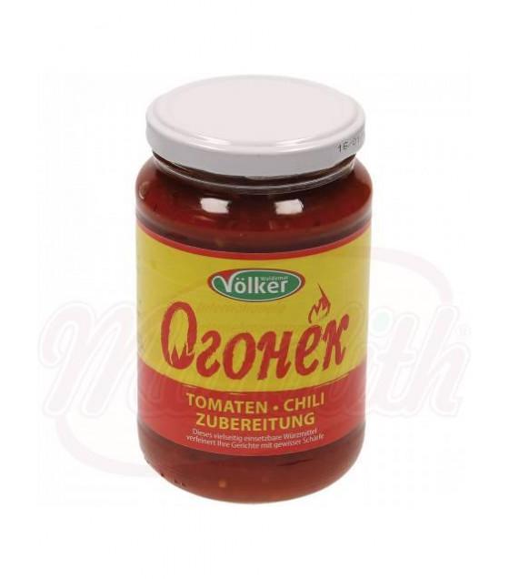 """VOLKER Tomato-Chilli Preparation """"Ogonyok"""" - 360g (best before 23.10.22)"""