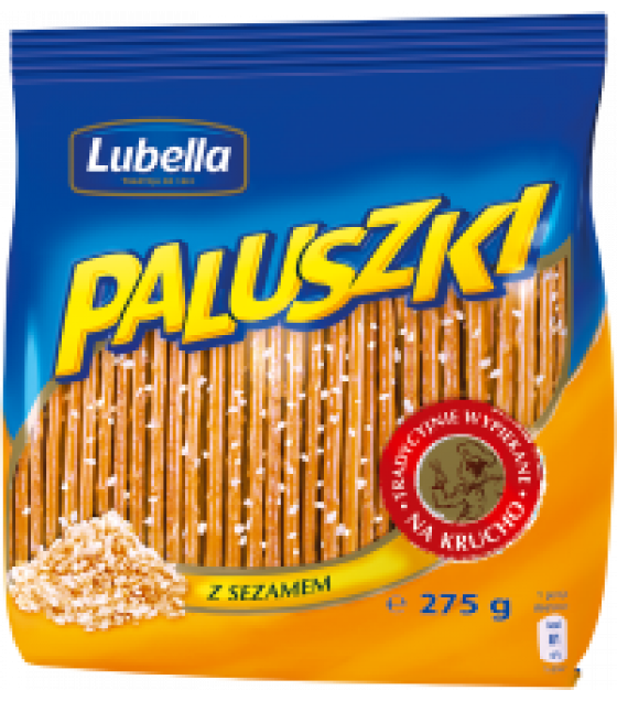 LUBELLA Sticks with Salt - 275g (exp. 01.11.20)