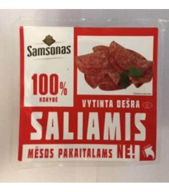 """SAMSONAS Dried Sausage """"Samsono Saliamis"""" Sliced - 200g (exp. 29.04.19)"""