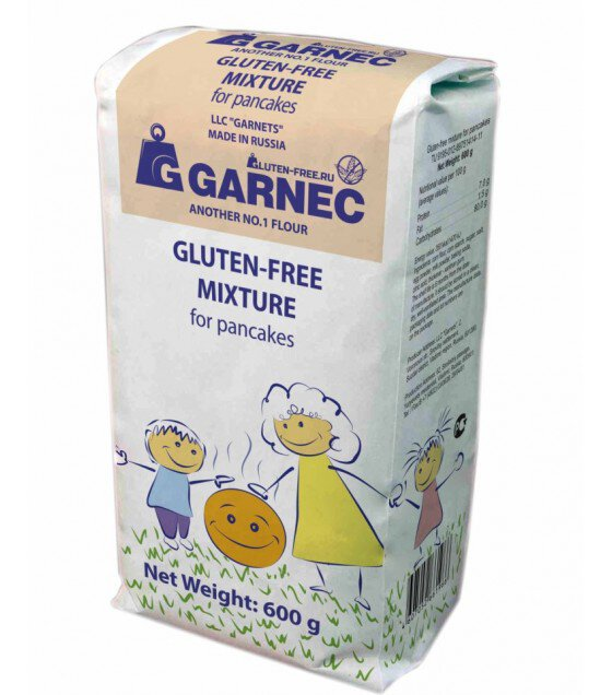 "Mix For Pancakes ""Garnec"" No Gluten - 600g (exp. 10.05.19)"