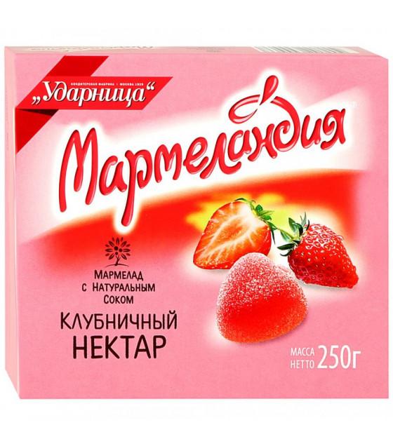 """UDARNITSA Marmelade """"Strawberry Nectar"""" """"Marmelandya"""" - 255g (best before 25.12.21)"""
