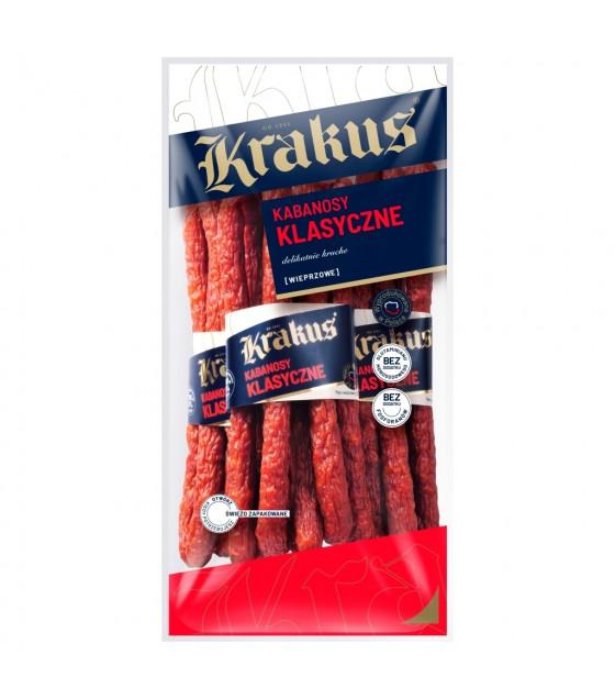 KRAKUS Kabanos With Pork Classic Smoked Sausages - 180g (best before 11.10.21)
