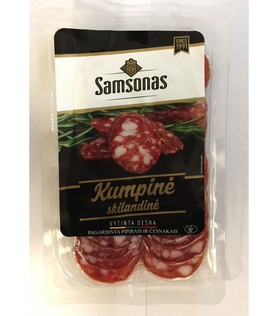 """SAMSONAS Dried Sausage """"Samsono Kumpine"""" Sliced - 90g (exp. 29.04.19)"""