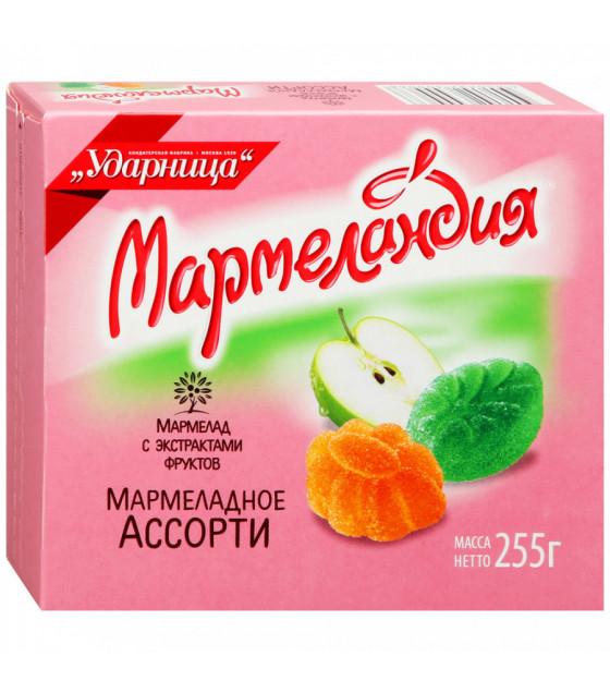 "UDARNITSA Marmelade ""Marmelade Assorted"" ""Marmelandya"" - 255g (best before 25.12.21)"