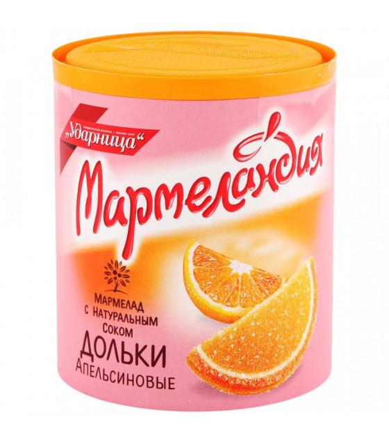 "UDARNITSA Fruit Jelly ""Little Orange Segments"" ""Marmelandya"" - 250g (best before 25.12.21)"