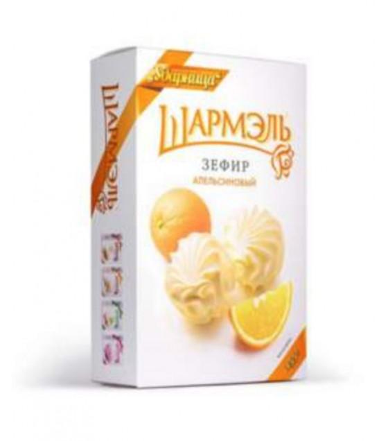 "UDARNITSA Zephyr Marshmallows ""Orange"" ""Sharmel"" - 255g (best before 25.12.21)"